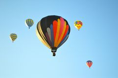 Hot air balloon. The Spirit of Boise Balloon Classic, Labor Day Weekend, first weekend in September. 2017, Ann Morrison Park, Boise, Idaho is an annual event Stock Photo