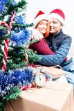 Spirit of Christmas and new year. Concept of a holiday and days Stock Photography