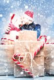 Spirit of Christmas and new year. Concept of a holiday and days Stock Image