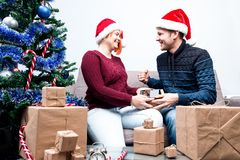 Spirit of Christmas and new year. Concept of a holiday and days Stock Images
