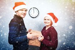 Spirit of Christmas and new year. Concept of a holiday and days Stock Photos