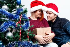 Spirit of Christmas and new year. Concept of a holiday and days Royalty Free Stock Photography