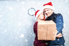 Spirit of Christmas and new year. Concept of a holiday and days Stock Photo