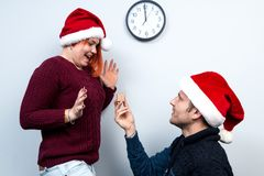 Spirit of Christmas and new year. Concept of a holiday and days Royalty Free Stock Photo