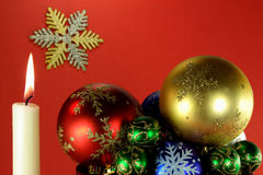 Spirit of Christmas and New Years Eve 05. Stock Image