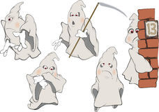 Spirit Clip Art. Cartoon Royalty Free Stock Photos