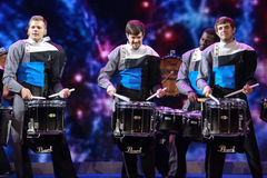 Free Spirit Drum And Bugle Corps Ensemble Play At Microsoft Convergence Conference Opening Royalty Free Stock Photography - 42149327