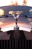 Spirit of Ecstasy on Rolls Royce Corniche Stock Image