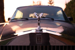 Spirit of Ecstasy on Rolls Royce Corniche Royalty Free Stock Image