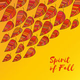 Spirit of fall stock illustration