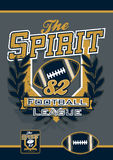 The spirit football sports league Stock Photos