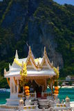 Spirit house. Phi Phi island. Thailand Royalty Free Stock Photography
