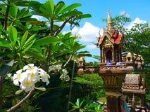 Spirit house. Thailand 2016, Koh Phangan Island stock image