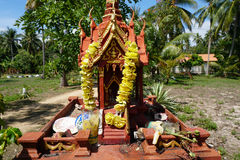 Spirit house in Thailand. (san phra phum Stock Photos