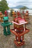 Spirit Houses, Thailand Royalty Free Stock Photo