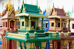 Spirit houses in Thailand. In a special shop Stock Image