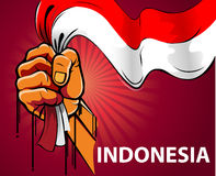 Spirit of Indonesia Stock Photography