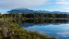 Spirit lake at Kepler track Stock Photos