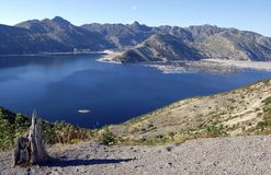 Spirit Lake, Mount St. Helens Stock Photo