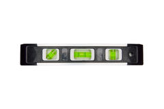Spirit Level. Includes clipping path, isolated on white background Stock Photography