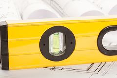 Spirit level Stock Photo