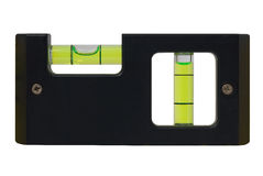 Spirit level close-up Stock Images