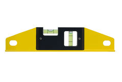 Spirit level close-up Stock Photography