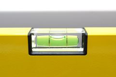 Spirit Level Close Up Stock Image