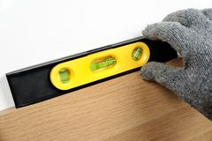 Spirit level Stock Photos