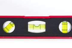 Spirit level tool Royalty Free Stock Photography