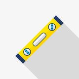 Spirit level vector icon Royalty Free Stock Images