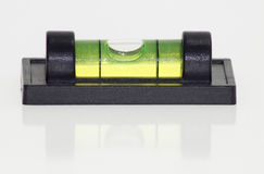 Spirit level on white Royalty Free Stock Photo