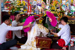 The Spirit Mediums of Viet Nam Royalty Free Stock Photo