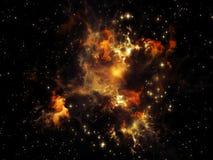 Spirit of Nebula Royalty Free Stock Photos