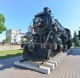 Spirit of Sir John Locomotive, Kingston, ON Stock Images