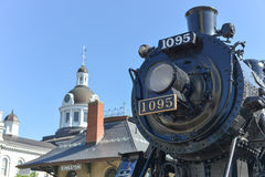 Spirit of Sir John Locomotive, Kingston, ON Stock Photography