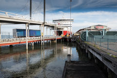 Spirit of Tasmania I at Port Melbourne Australia Stock Photos