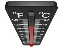 Spirit the thermometer Stock Photos
