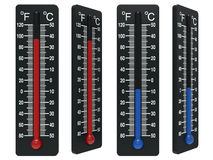 Spirit the thermometer Stock Images