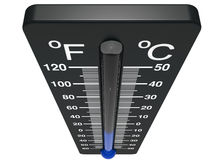 Spirit the thermometer Royalty Free Stock Images