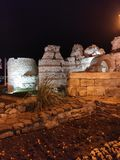 Spirit of time. Nesebar, Old Town royalty free stock photos