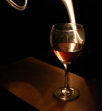 Spirit of the Wine Glass Royalty Free Stock Images