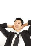Spiritless businessman Stock Photos