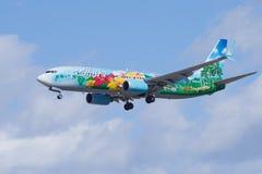 Spirito del ` di Alaska Airlines del ` delle isole Fotografia Stock Libera da Diritti