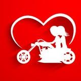 Spirito del fondo di Santo Valentino, della cartolina d'auguri o della scheda di regalo Fotografie Stock