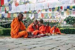 Spirito del Nepal fotografia stock