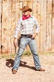Spirito del ragazzo della mucca Fotografie Stock Libere da Diritti