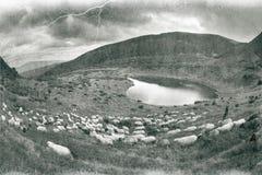 Spirito di antichità nelle montagne Fotografia Stock Libera da Diritti