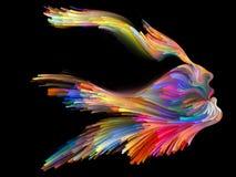 Spirito di immaginazione immagini stock