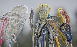 Spirito di squadra di Lacrosse immagine stock